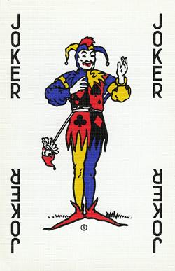 Playing card joker tattoos